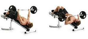 decline bench press fpr chest