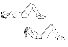 crunches-exercise