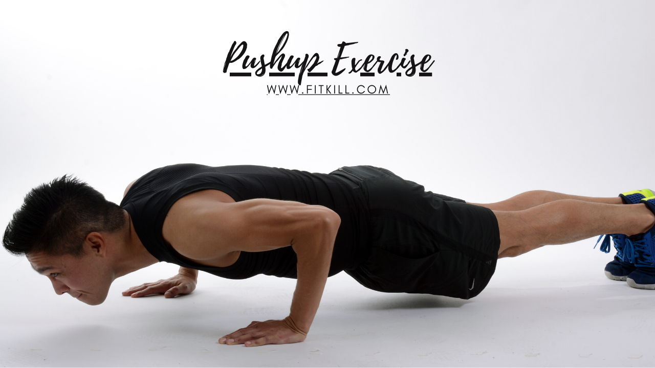 home chest workout-Pushup Exercise