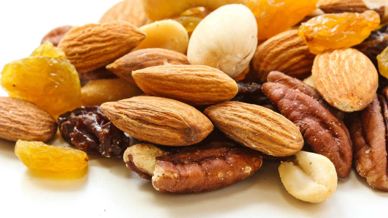 dry fruits & after workout