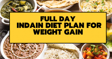 Full Day Indain Diet Plan For Weight Gain | Fitkill