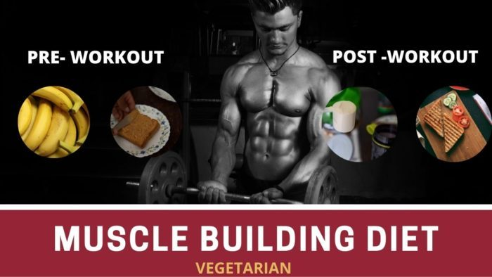 pre workout and post workout meal for vegetarians