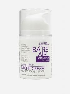 Bare Air Night Cream with Hyaluronic Acid