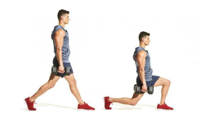 9 Best Leg exercises at Home -Lunge